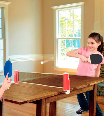 Review of Franklin Sports Complete Portable Table Tennis Ping-Pong Set