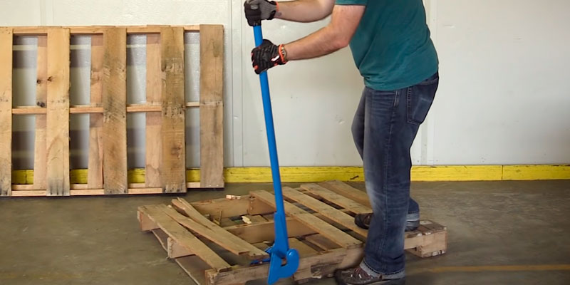 Review of TUFFIOM 44-Inch Pallet Buster Tool with Extended Padded Handle