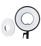 FalconEyes DVR-300 Dual Color LED Ring Light