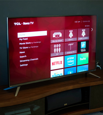 Review of TCL 55R617 55-Inch 4K Ultra HD Roku Smart LED TV (2018 Model)