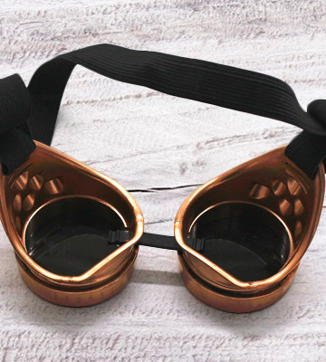 Review of WEICHUAN Vintage Steampunk Goggles Glasses Cosplay