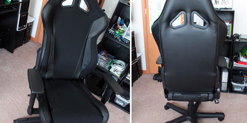 DX Racer Racing Series DOH/RW106/N Newedge Edition Gaming Chair for 180 lbs in the use