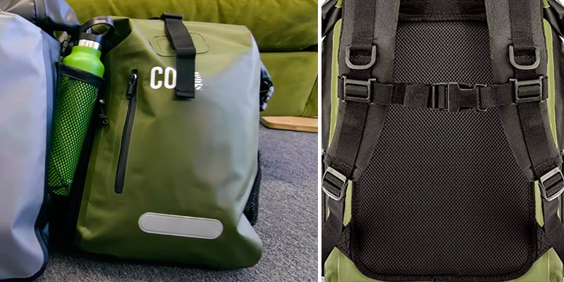 COR Board Racks Waterproof Backpack Dry Bag Backpack for Travel in the use
