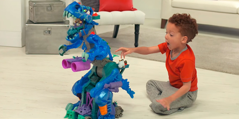 Detailed review of Fisher-Price Imaginext Ultra T-Rex - Ice