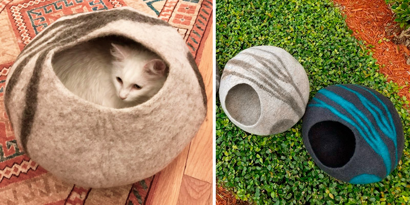 Review of MEOWFIA Cat Bed Premium Cave (Large)