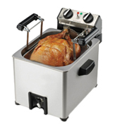 Waring Pro TF200B Rotisserie Turkey Fryer