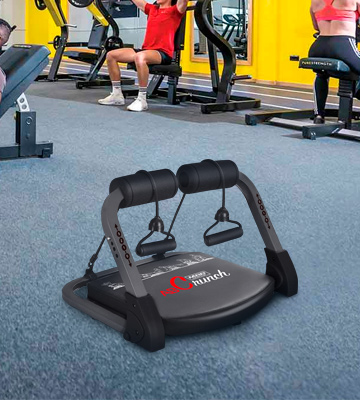 Review of Fitlaya Fitness Portable abs Exercise Equipment ab Machine