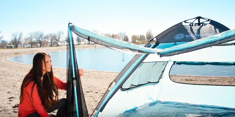 Review of WildHorn Outfitters Sun Escape XL QuickUp Cabana Beach Tent