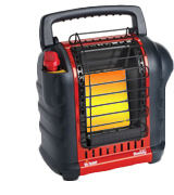 Mr. Heater F232000 MH9BX Buddy Indoor-Safe Portable Radiant Heater