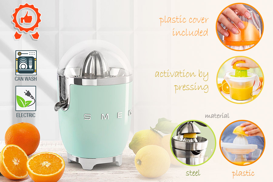 Comparison of Citrus Juicers