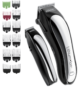 Wahl 79600-2101 Lithium Ion Hair Cutting Kit with 10 Guide Combs