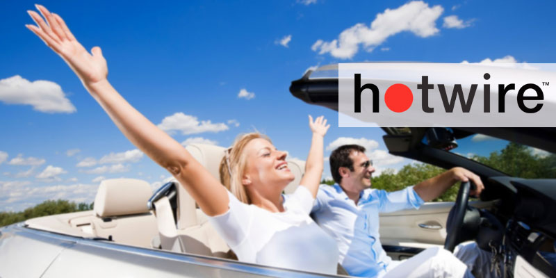 Hot Wire Car Rental Services in the use