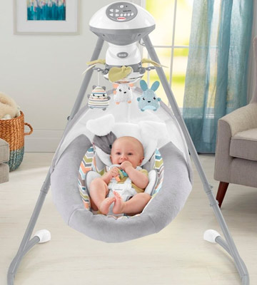 Review of Fisher-Price Sweet Snugapuppy Dreams Cradle 'n Swing