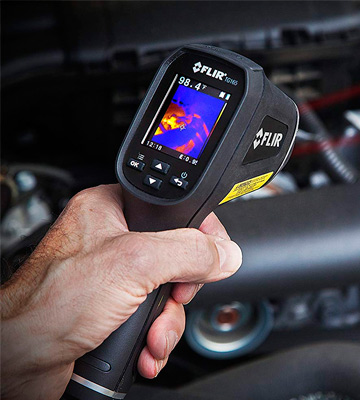 Review of FLIR TG165 Spot Thermal Camera