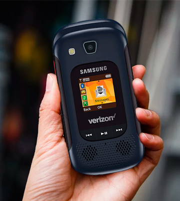 Review of Samsung Convoy 4 Rugged Water-Resistant Verizon Flip Phone