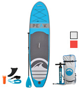 ISLE Surf and SUP PEAK Inflatable Stand Up Paddle Board