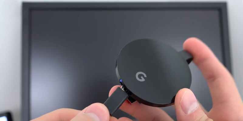 Review of GOSMOO WiFi Wireless Display Dongle 1080P Mini Receiver Sharing HD Video from Chromecast Tv