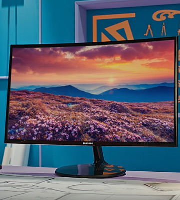 Review of Samsung C24F390 Curved FHD Monitor