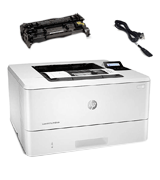 HP LaserJet Pro M404dn Monochrome Laser Printer (Double-Sided Printing)