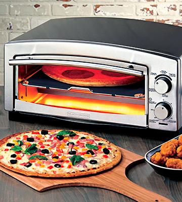Review of BLACK+DECKER 5-Minute Pizza Oven & Snack Maker