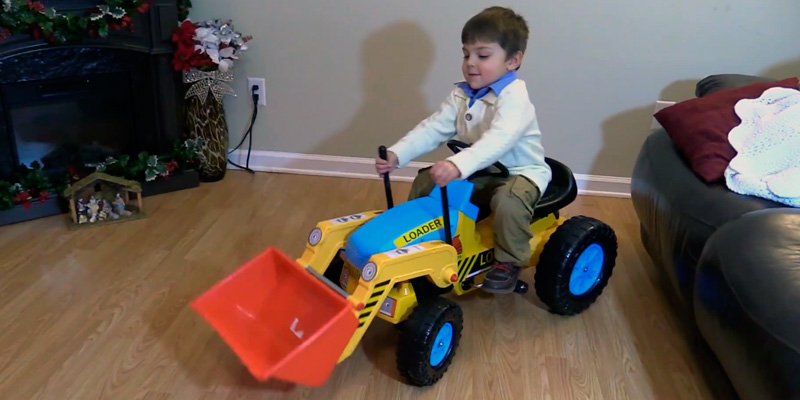 Review of Best Choice Products Kids Pedal Ride On Excavator