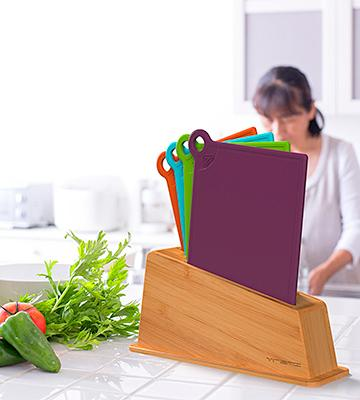 Review of VREMI 5-in-1 Plastic Cutting Board Set
