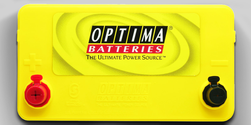 Optima 8071-167 D51 Dual Purpose Battery application
