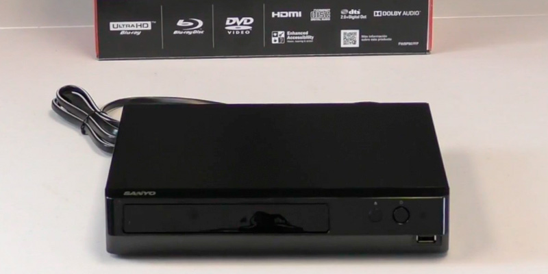 Review of Sanyo TW-8MYS-L4EI 4K UHD Blu-Ray Player