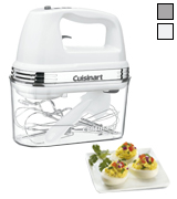 Cuisinart HM-90S Power Advantage Plus 9-Speed Handheld Mixer, Storage Case