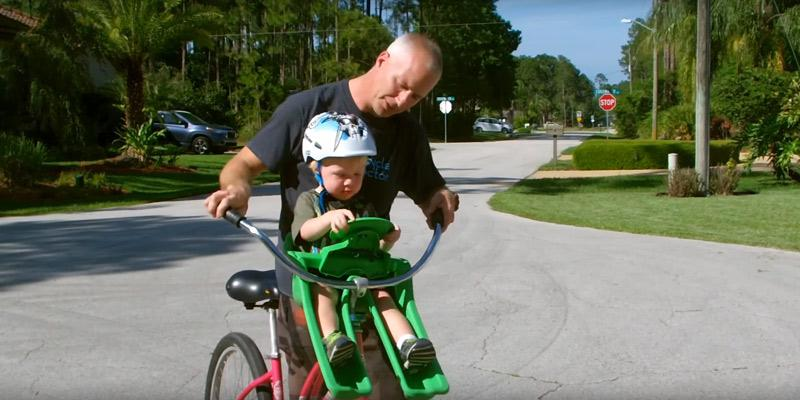 Review of iBert Safe-T Front Mounted Child Bicycle Seat