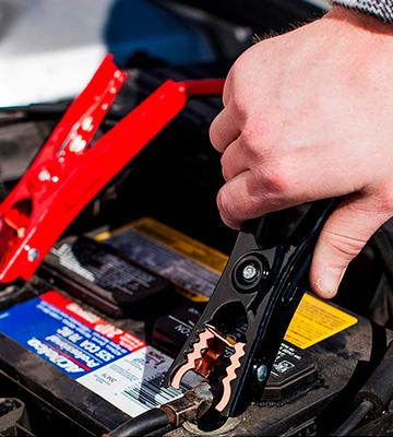 Review of Capri Tools UL-Listed Booster Jumper Cables
