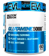 Evlution Nutrition 60 Servings Nutrition Glutamine 5000