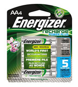 Energizer Rechargeable Batteries AA