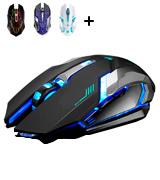 VEGCOO C8 Silent Click Wireless Gaming Mouse