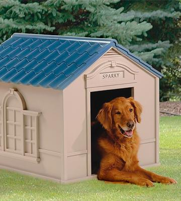 Review of Suncast Large Deluxe Dog House