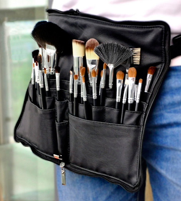 Review of Morphe A1 Professional Makeup Brush Tool Apron