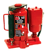 Torin TA92006 Big Red Air Hydraulic Bottle Jack (20 Ton Capacity)