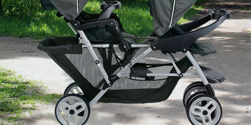 Graco DuoGlider Click Connect Stroller in the use