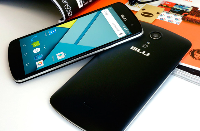 Comparison of Blu Phones