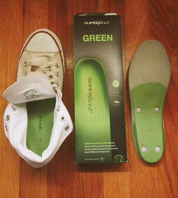 Review of Superfeet 1404 GREEN Full Length Shoe Inserts