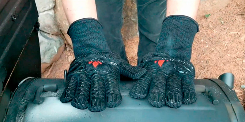 Review of GRILL HEAT AID Extreme Heat Resistant BBQ Gloves