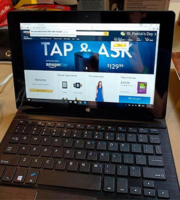 Review of Dragon Touch i10X Tablet 2-in-1 with Detachable Keyboard