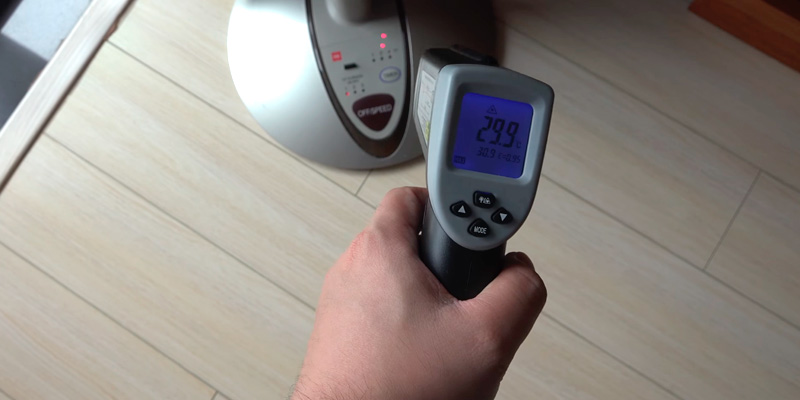 Review of Etekcity Lasergrip 630 Dual Laser Digital Infrared Thermometer