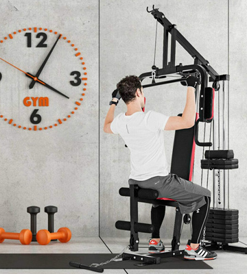 Review of Goplus Multifunction Home Gym System