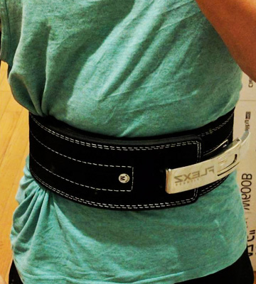 Review of Flexz Fitness Lever Buckle Powerlifting Belt