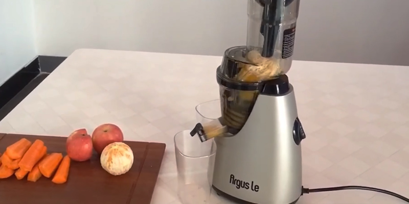"Review of Argus Le AL-B6000 Masticating Juicer with 3"" Big Mouth Whole"