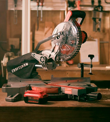 Review of Craftsman CMCS714M1 Sliding Miter Saw Kit