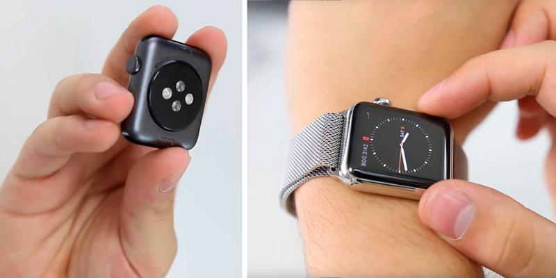 Penom Stainless Steel and Fully Magnetic Apple Watch Band in the use