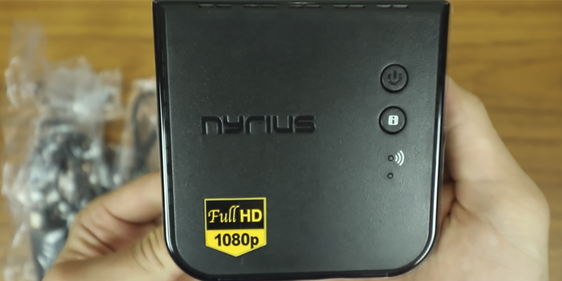 Nyrius ARIES Prime HDMI Transmitter & Receiver in the use