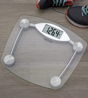 Review of Taylor Glass and Chrome Digital Scale